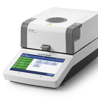 Галогенный анализатор влагосодержания HC103