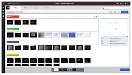 The Gallery tab contains tools to store, view, and manage your image files.